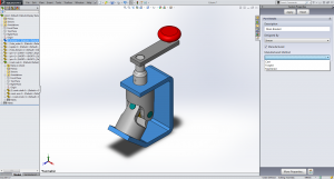 Property Tab within SolidWorks 2
