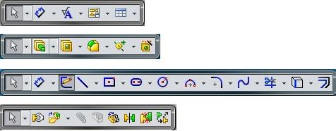 S Key Toolbars