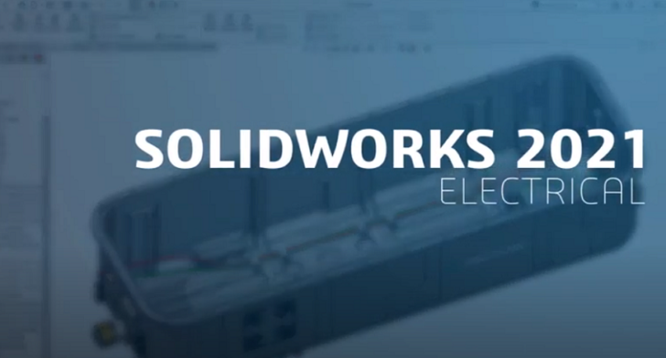 Top 5 New Features in SOLIDWORKS Electrical 2021