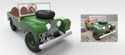 Series 1 Land Rover Pedal Car – Made Easy with SOLIDWORKS!