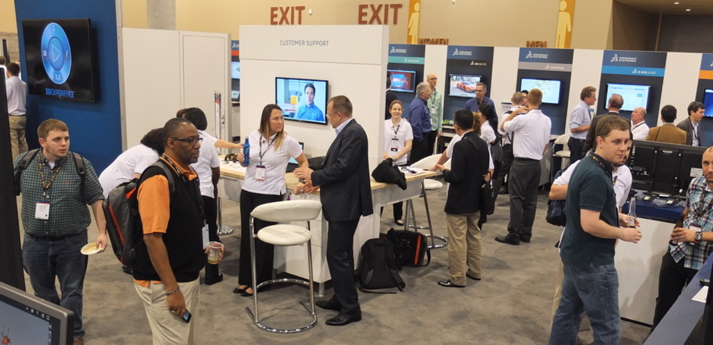 SOLIDWORKS Booth at SWW 2015