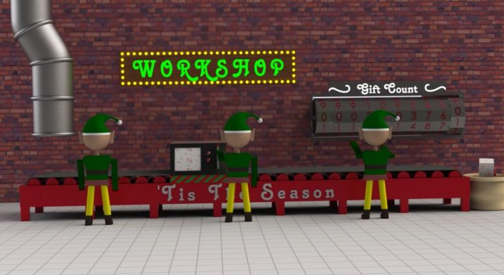 Observing Santa's Elves at work with SOLIDWORKS Motion
