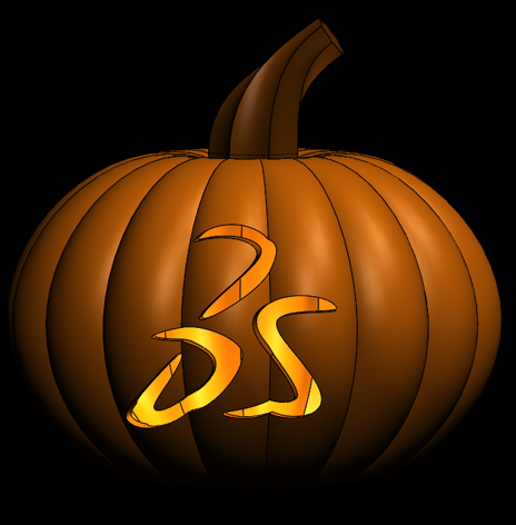 Wrap Feature Fun: Carving a Jack-O'-Lantern in SOLIDWORKS