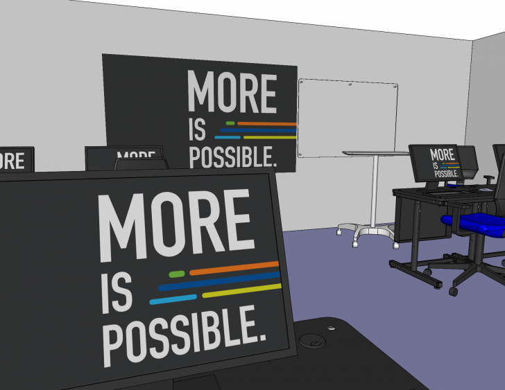 Large Design Review for Large Design Changes: Planning our New Training Room in SOLIDWORKS