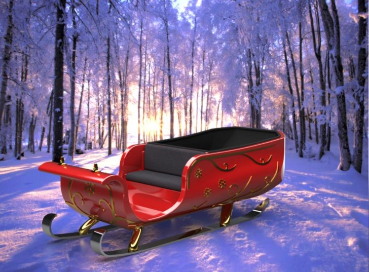 Redesigning Santa's Sleigh using SOLIDWORKS