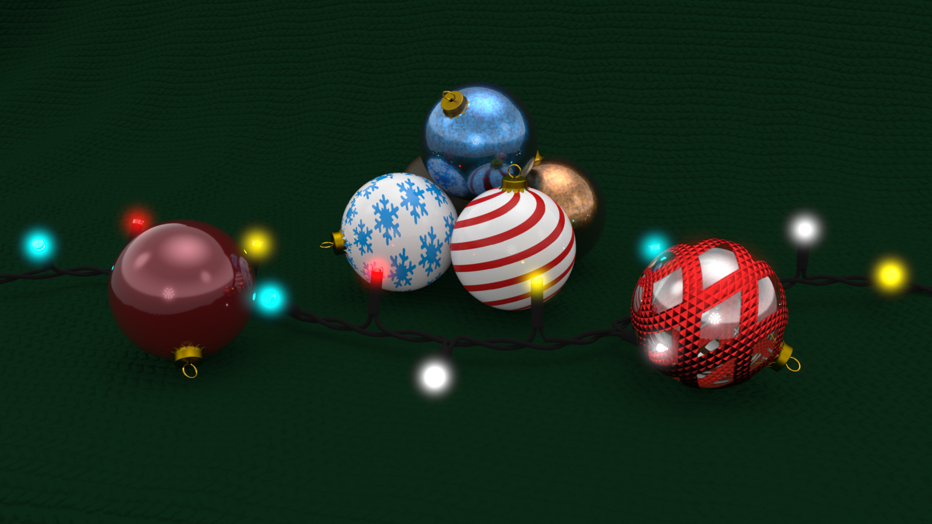 SOLIDWORKS Christmas Baubles