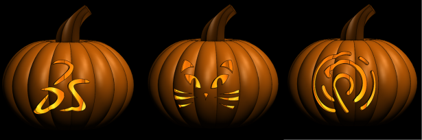 SOLIDWORKS and DesignPoint Jack O Lanterns