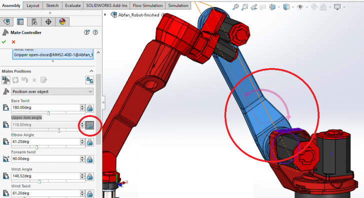 What's New in SOLIDWORKS 2016: Mate Controller Feature