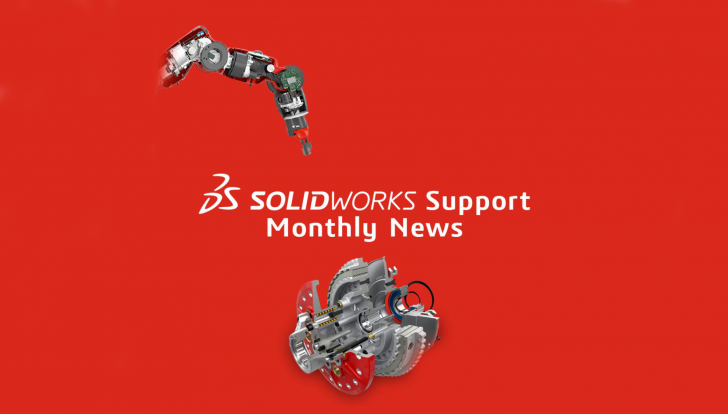 SOLIDWORKS Support Monthly News – September 2021