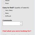 Solution survey form