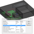 SOLIDWORKS Flow Simulation's Min/Max Table