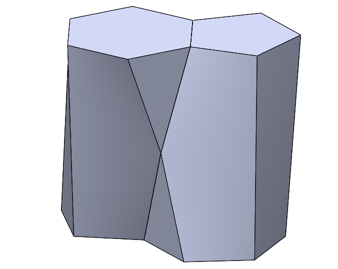 How to Model: Self-Packing Scutoid in SOLIDWORKS
