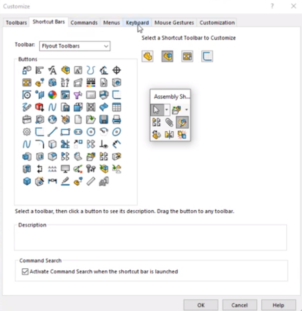 Search Less with SOLIDWORKS Shortcuts