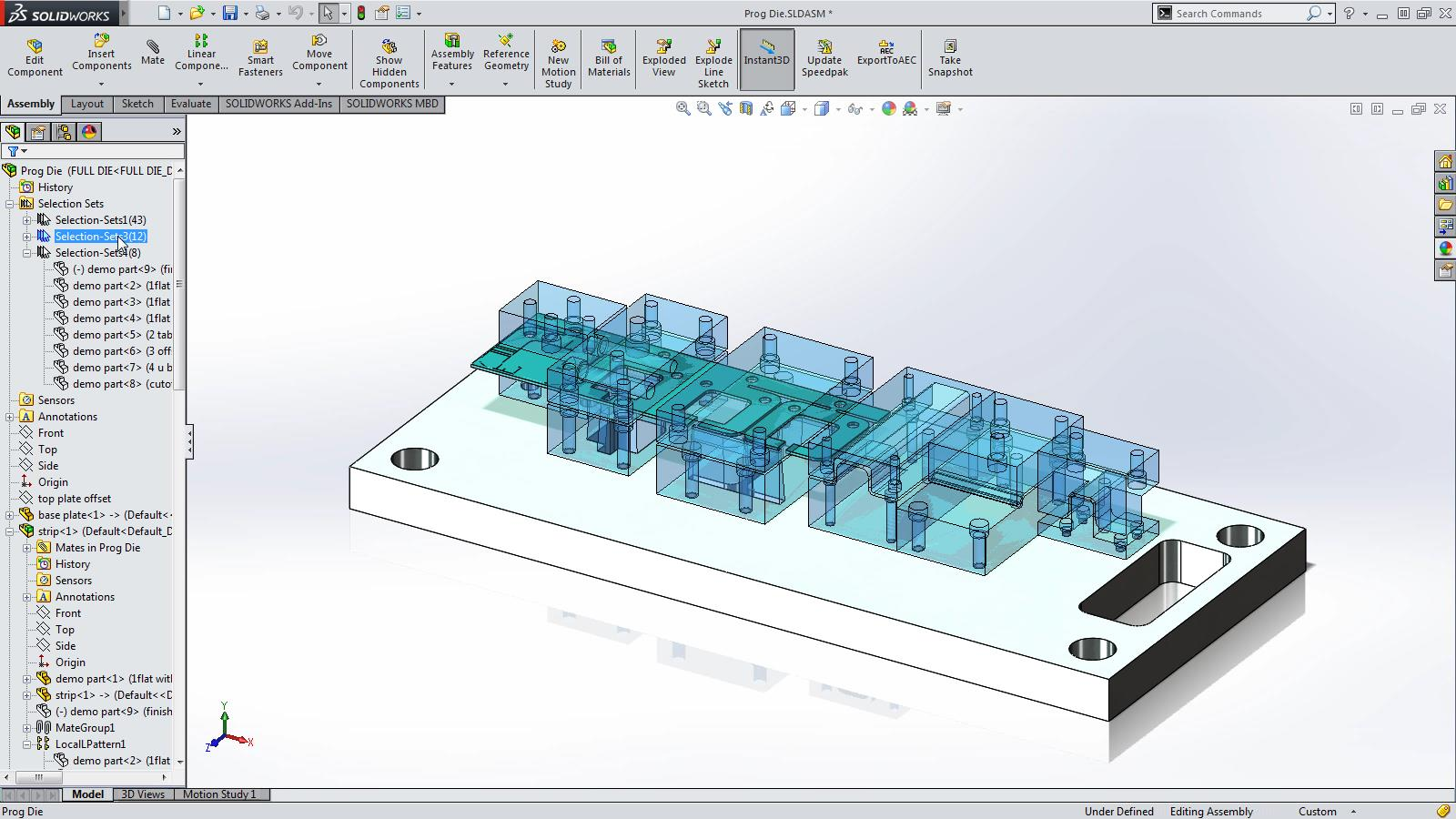SOLIDWORKS 2015 Sneak Peek: Selection Sets