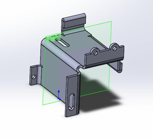 Solidworks Part Reviewer Simple Sheet Metal Part 3 Tutorial
