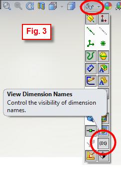 Show Dimension Names