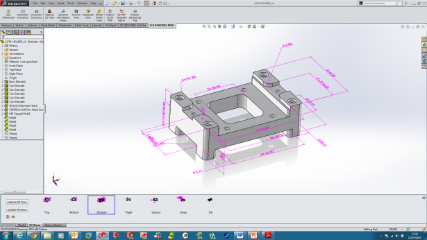 Showing-dimensions-in MBD