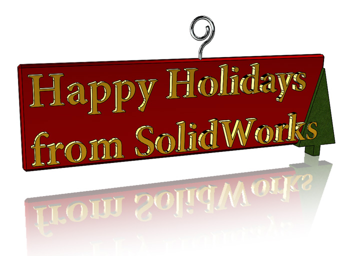SolidWorks Part Reviewer: Holiday Ornament