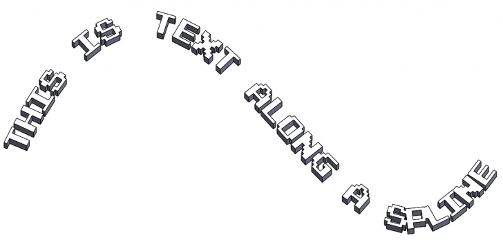 Dissolving Sketch Text