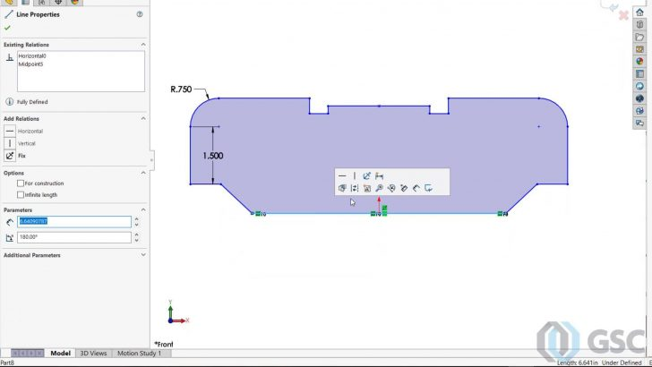 Sketching Enhancements in SOLIDWORKS
