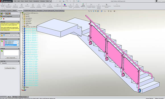 SOLIDWORKS and Smart Components