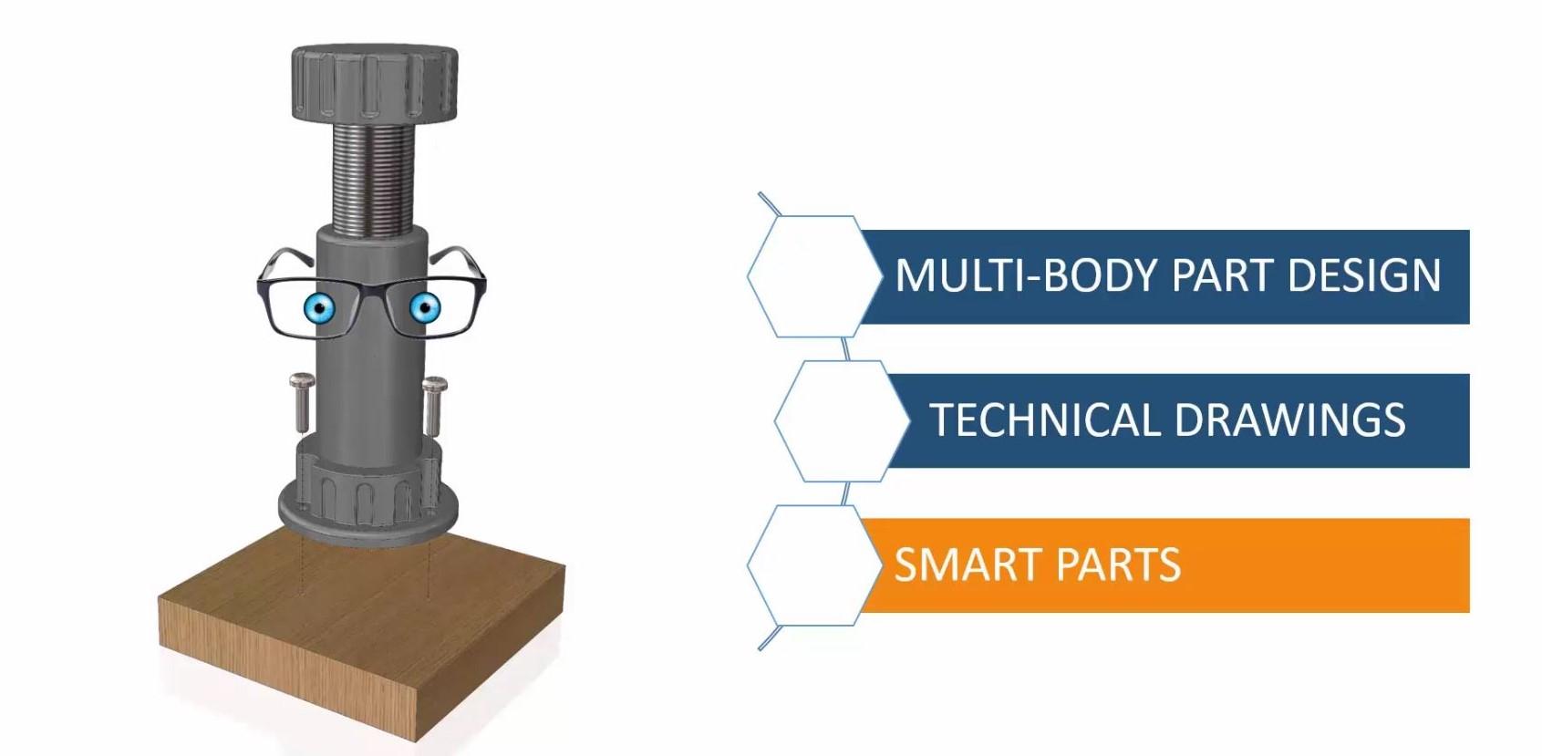 SolidWorks Smart Parts