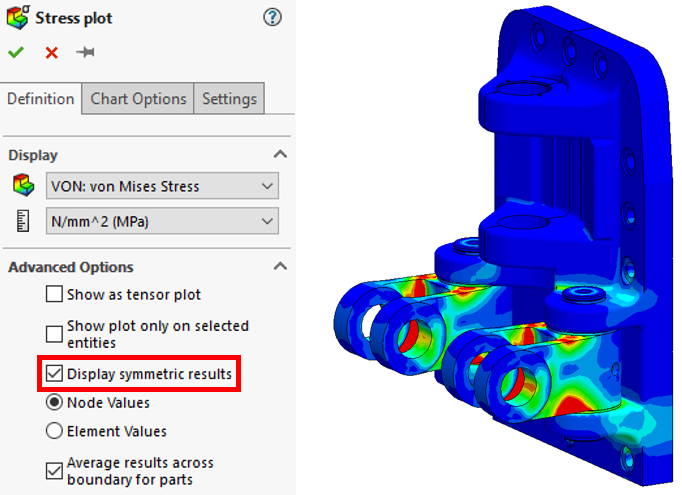 SOLIDWORKS Simulation: The mystery of symmetry – Part 1