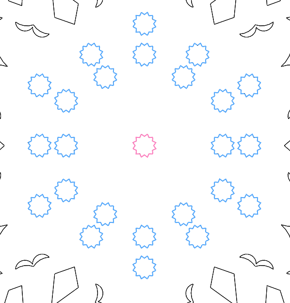 Winter Challenge: Create a Snowflake Using all of the