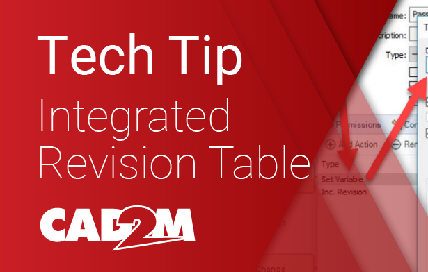 How to set up an automatically updated revision table