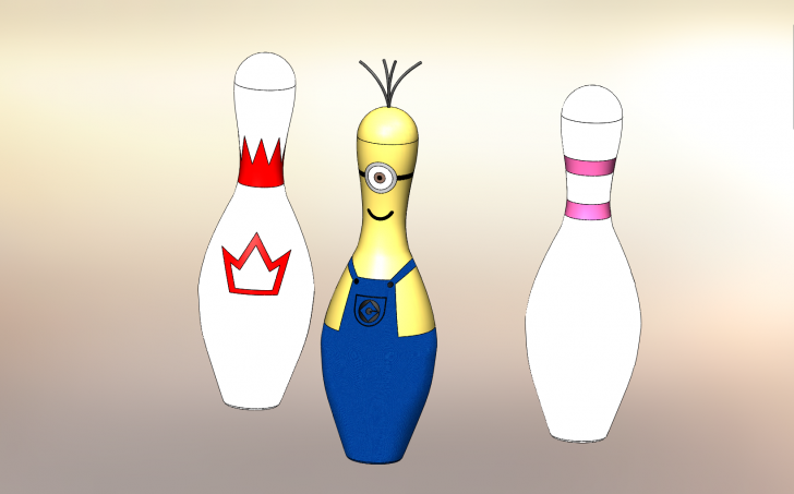 SOLIDWORKS Part Reviewer: Bowling Pin Tutorial