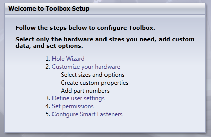 How to Configure SolidWorks Toolbox and Hole Wizard