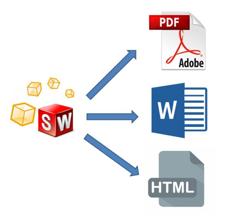 SOLIDWORKS Composer Quick Start Guide #9: Publishing to PDF, Word and HTML