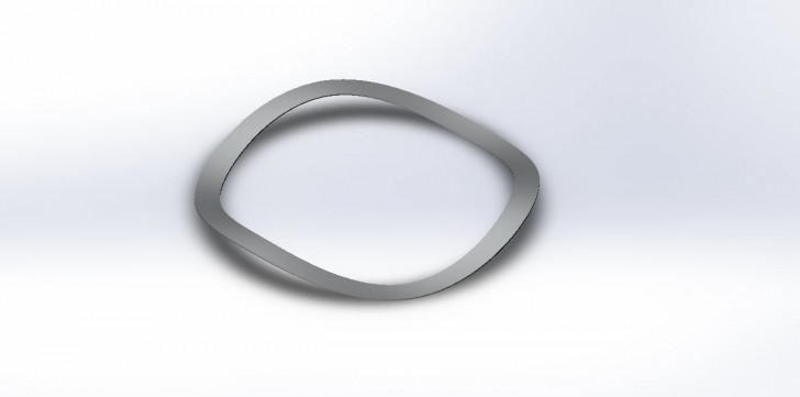 SOLIDWORKS Part Reviewer: Wave Washer Tutorial