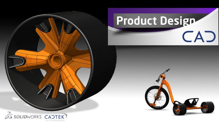 SOLIDWORKS Drift Trike – Rear Wheels