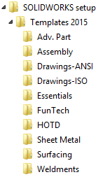 SOLIDWORKS TECH TIP: Easy Template Storage