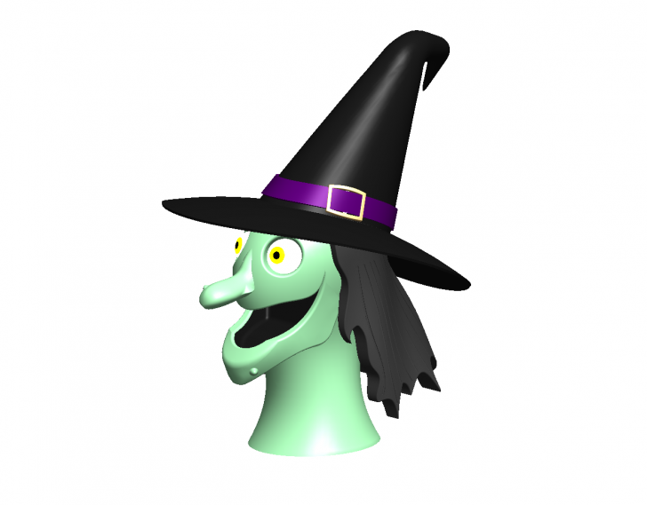 SOLIDWORKS Part Reviewer: Witch Head Assembly Tutorial