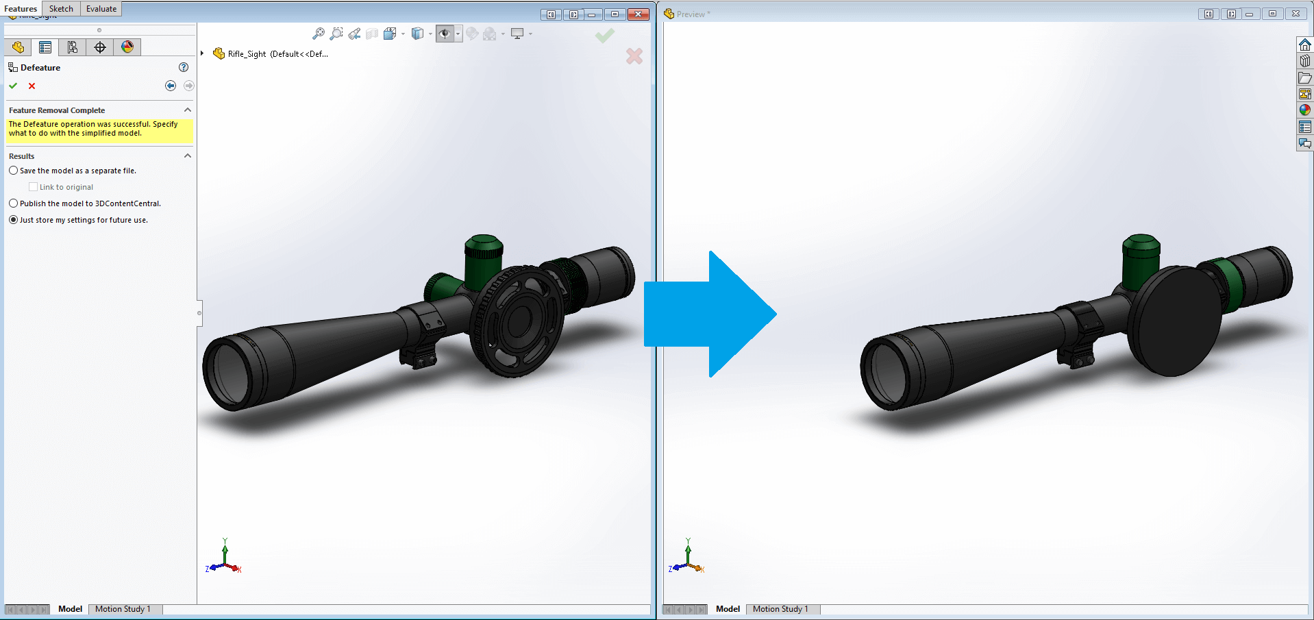 how to create foam on part in solidworks