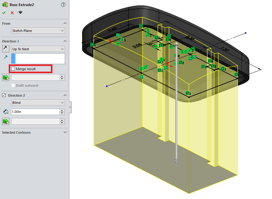 Working with multibodies within SOLIDWORKS