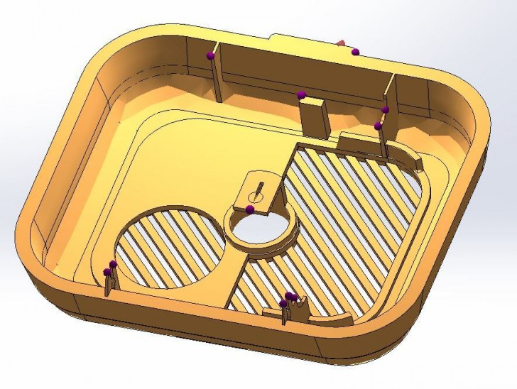 How to Prevent Injection Molding Air Traps with SOLIDWORKS Plastics