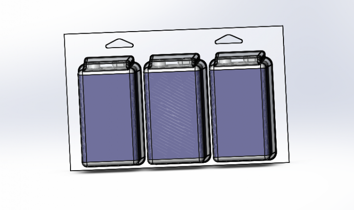 SOLIDWORKS Part Reviewer: Battery Package Assembly Tutorial