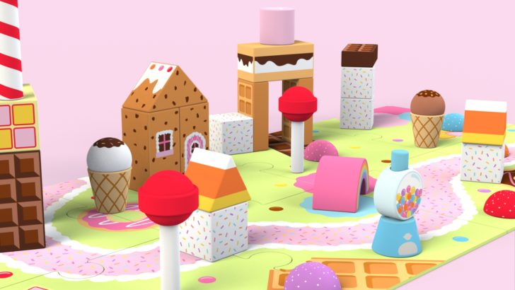 Candy Land Building Blocks Set Tutorial – Part 1
