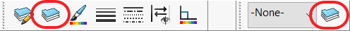 Line Format Toolbar or Layer Toolbar