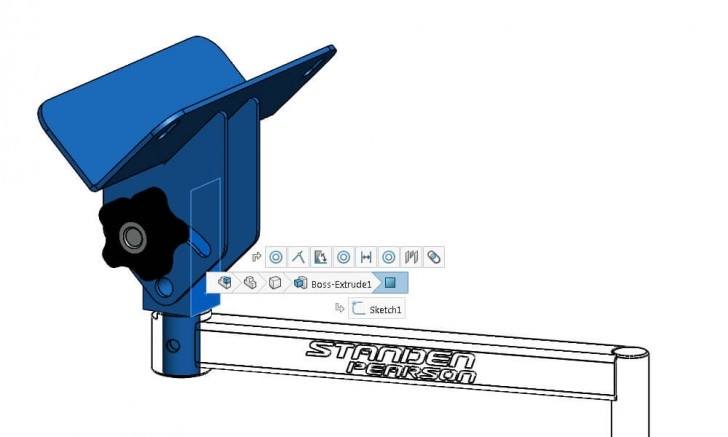 SOLIDWORKS 2016 Copy & Paste Components with Mates