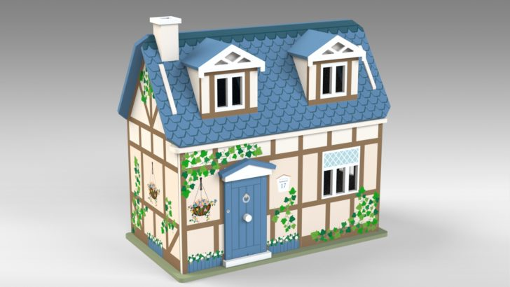 Cottage Dolls House Part 1 – Tutorial