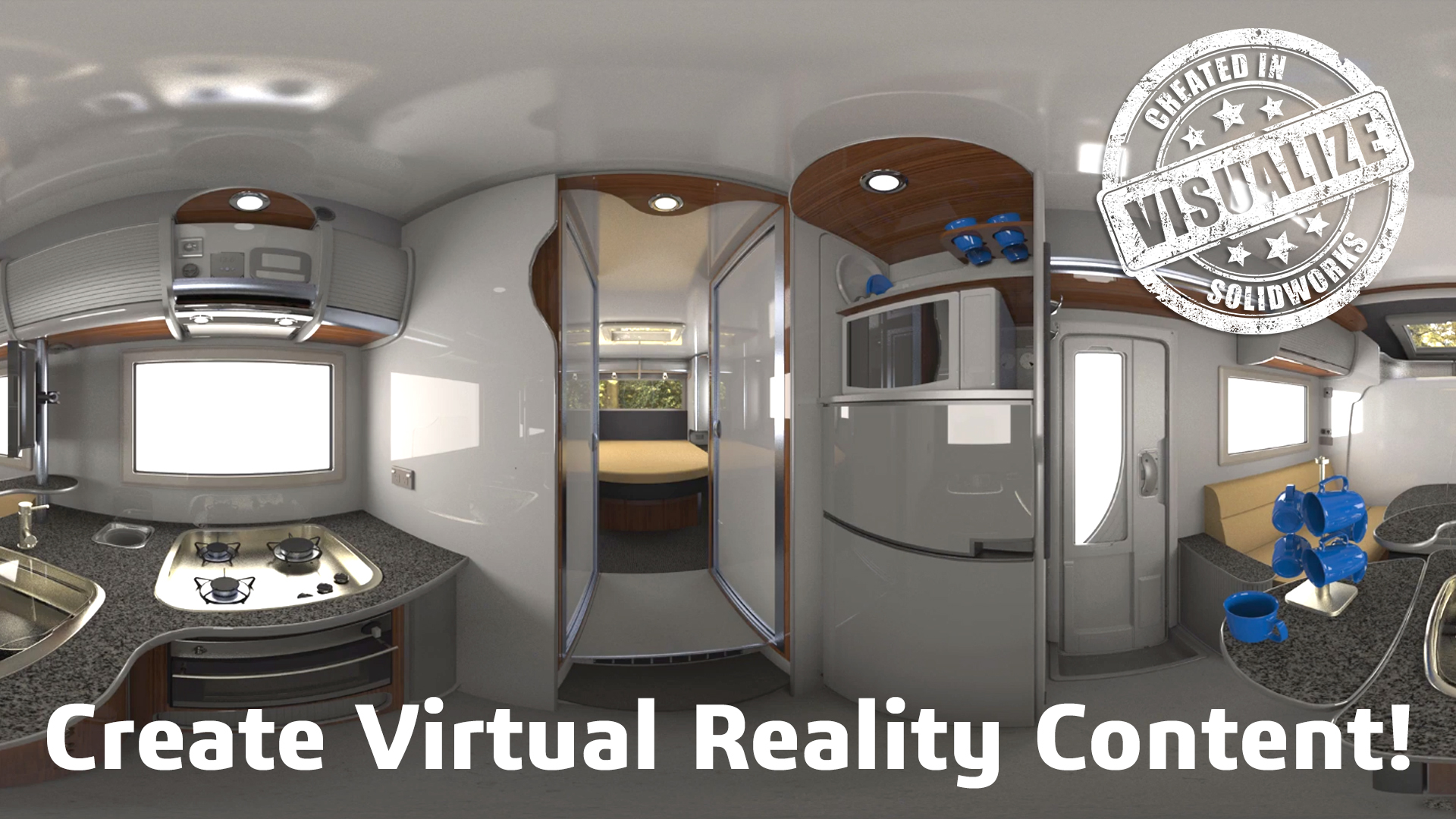 Quickstart Guide to Using Virtual Reality in SOLIDWORKS Visualize Professional 2018