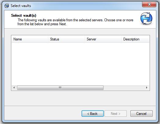 SOLIDWORKS PDM - Select Vault - Missing