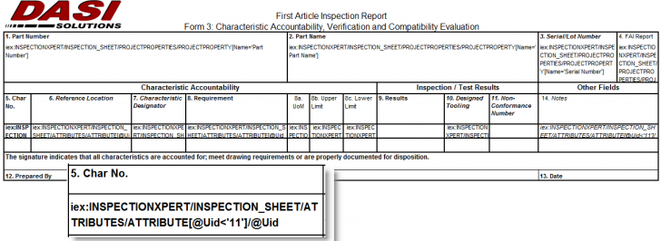 Customizing SOLIDWORKS Inspection Reports – Part 3