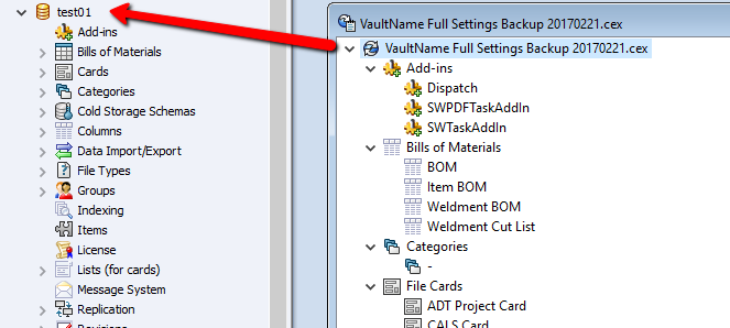 Creating a Testing Vault for SOLIDWORKS PDM
