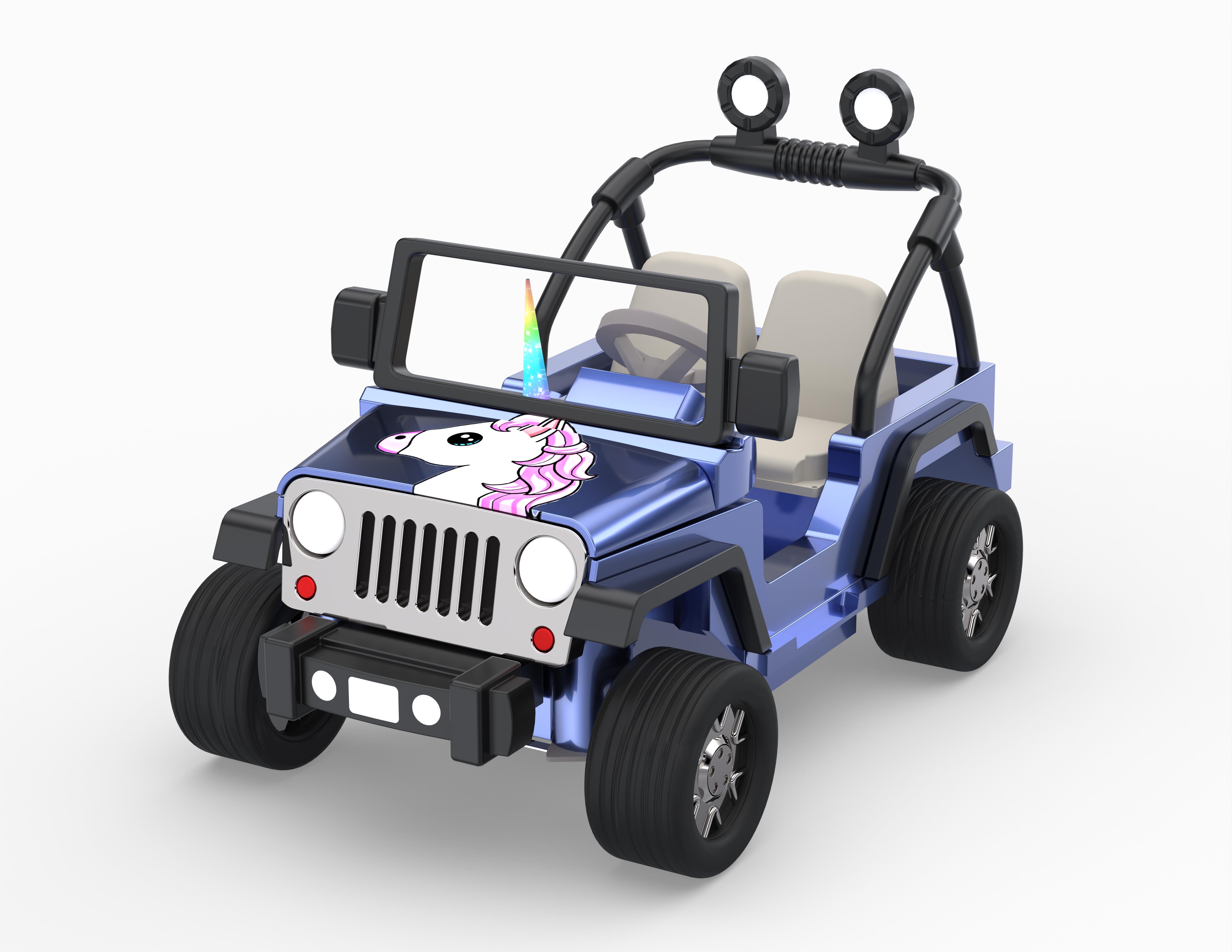 Ride-on Electric Unicorn Car – Part 1