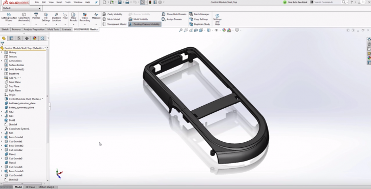 What's New 2017: Loading Parts Faster in SOLIDWORKS Plastics